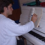 Al pianoforte...